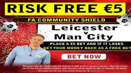 Risk Free Fiver on Leicester v Man City